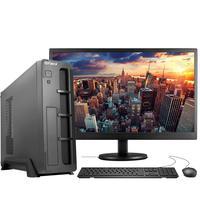 """Computador Fácil Slim Completo Intel Core I3 10100f (décima Geração) 8gb Ddr4 Hd 1tb Monitor 19"""" Hdmi Led"""