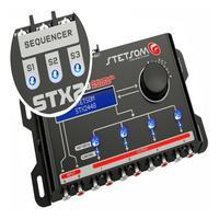Processador De Audio Digital Stetsom - Stx 2448 Equalizador E Crossover.