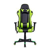 Cadeira Gamer Pelegrin Em Couro Pu Reclinável Pel-3012 - Verde