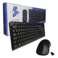 KIT Teclado + Mouse S/ Fio 015-0079 Office