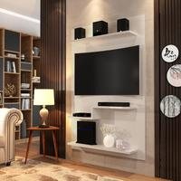 Painel Pra Tv Pallazio Plus - Off White - Rpm Móveis