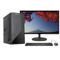 """Computador Completo Fácil Intel Core I5 10400F Décima Geração, 8GB DDR4, Geforce, SSD 480GB, Monitor 21.5"""" Led, HDMI"""