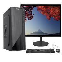 """Computador Completo Fácil Intel Core I5 9400F Nona Geração, 8GB DDR4, Geforce Nvidia, SSD 480GB, Monitor 21.5"""" Led, HDMI"""