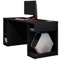 Mesa Para Computador Notebook Pc Gamer Destiny F01 Preto - Lyam Decor