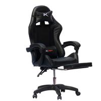Cadeira Gamer Ktrok Proseat Giratória Retrátil - Preta