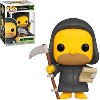 Boneco Funko Pop The Simpsons Treehouse Of Horror Homer Grim Reaper 102