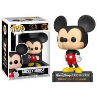Boneco Funko Pop Disney Archives 50th Mickey Mouse 801