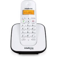 Telefone sem fio, Intelbras, Branco e Preto, TS 3110