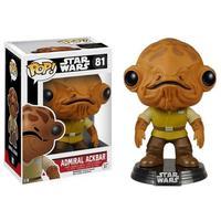 Boneco Funko Pop Star Wars Admiral Ackbar 81