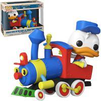 Boneco Funko Pop Disney 65th Donald Duck On The Casey Jr.circus Train Attraction 01