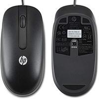 Mouse Optico Scroll Usb Hp Com Fio Qy777aa