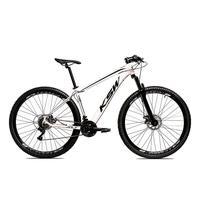 Bicicleta Alum 29 Ksw Cambios Gta 24 Vel A Disco Ltx - 17´´ - Branco/preto