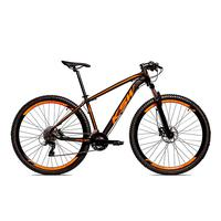 Bicicleta Alum 29 Ksw Cambios Gta 27 Vel Freio Disco Hidráulica - 19´´ - Preto/laranja Fosco