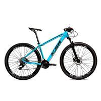 Bicicleta Alumínio Ksw Shimano Altus 24 Vel Freio Hidráulico E Cassete Krw19 - 15.5´´ - Azul/preto