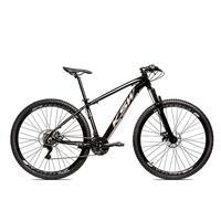 Bicicleta Alum 29 Ksw Cambios Gta 24 Vel A Disco Ltx - 21'' - Preto/prata