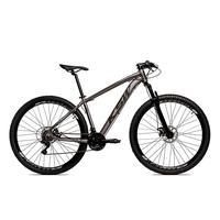 Bicicleta Alumínio Aro 29 Ksw 24 Velocidades Freio A Disco Krw16 - 21´´ - Grafite/preto Fosco