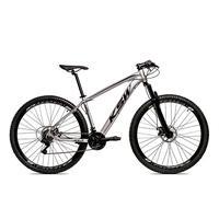 Bicicleta Alum 29 Ksw Cambios Gta 24 Vel A Disco Ltx - 21'' - Prata/preto