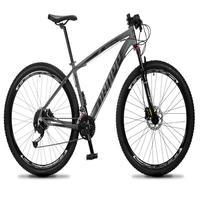 Bicicleta Aro 29 Dropp Rs1 Pro 27v Alivio, Fr. Hidra E Trava - Cinza/preto - 15´´ - 15´´