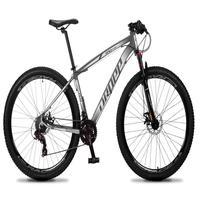 Bicicleta Aro 29 Dropp Rs1 Pro 21v Tourney Freio Disco/trava - Preto/branco - 17