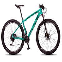 Bicicleta Aro 29 Dropp Rs1 Pro 27v Alivio, Fr. Hidra E Trava - Verde/preto - 17´´ - 17´´