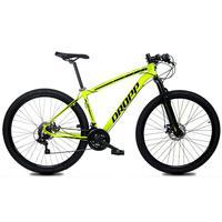 Bicicleta Aro 29 Dropp Z1x 21v Shimano, Susp E Freio A Disco - Amarelo/preto - 17