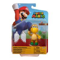 Super Mario - Boneco 4.0 Polegadas Colecionável - Koopa Paratroopa