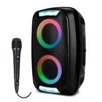 Alto Falante Portátil Bluetooth Multilaser Sp400- 01 Microfone