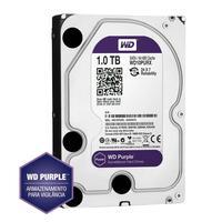 HD Interno Western Digital Wd Purple, 1TB 5400rpm Sata3 - Wd10purz
