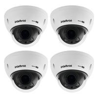 Kit 4 Câmeras Multi Hd 2 Megapixels 2.7 Á 12.0mm 30m Vhd 3230 D Z G5 Intelbras