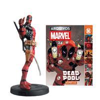 Marvel Factfiles Deadpool Edição 24