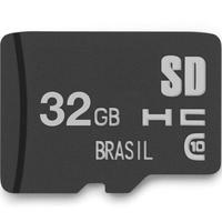 Cartão De Memória Multilaser, Classe 10, 32GB - MC145