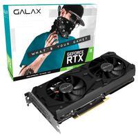 Placa de Vídeo Galax NVIDIA GeForce RTX 3060 Ti 1-Click OC, 8GB, GDDR6, LHR, DLSS, Ray Tracing, Preto - 36ISL6MD1VQW - LHR