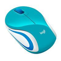Mini Mouse Logitech M187 Sem Fio, Verde, 1000 DPI