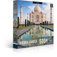 Quebra Cabeça 500 Peças Maravilhas Mundo Moderno Sort