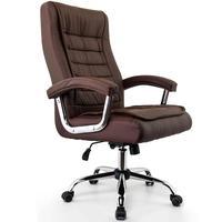 Cadeira Escritório Presidente Munique,  Marrom, Conforsit - 4648