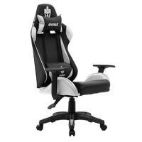 Cadeira Gamer Eg-904 Branca Evolut, Malha Sintética