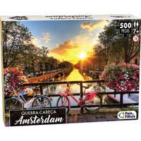 Quebra Cabeça Cartonado Amsterdam Premium 500 Peças