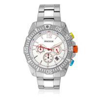 Relógio Masculino Magnum Analógico Ma33102q - Prata
