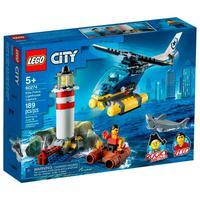 Lego City - Polícia De Elite: Captura No Farol - 60274
