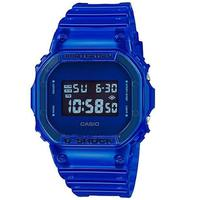Relógio Masculino G-shock Digital Dw-5600sb-2dr - Azul