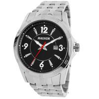 Relógio Masculino Magnum Ma33040t Prata