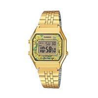 Relógio Casio Digital Feminino La680wga-9cdf - Dourado