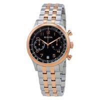 Relógio Masculino Bulova Dress Wb22391p - Prata/rosê