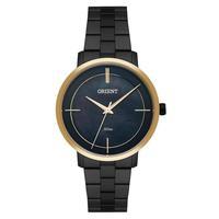 Relógio Feminino Orient Ftss0058/p1px - Preto/dourado