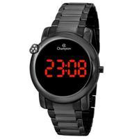 Relógio Feminino Champion Digital Ch48064d - Preto