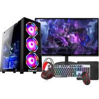 """PC Gamer Completo Fácil Intel I5, Terceira Geração, 16GB, GTX 750 4GB, SSD 240GB, Monitor 19"""""""