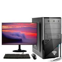 Computador Completo Icc Core I3 4gb Hd 120gb Ssd Monitor 15 Adap. Usb U1 N300