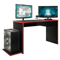 Mesa Gamer Drx 800 Xangai L01 Preto Tx/vermelho - Amarena Móveis