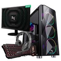 Kit - Pc Gamer Start Nli82909 Amd 320ge 8gb (vega 3 Integrado) 1tb e Monitor 21,5