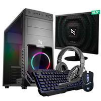 Kit - Pc Gamer Start Nli82876 Amd 320ge 16gb (vega 3 Integrado) 1tb + Monitor 19,5